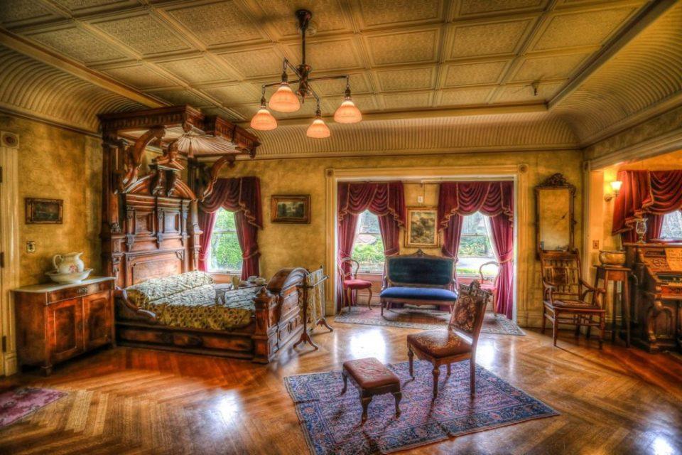 Mrs. Winchester's Main Bedroom