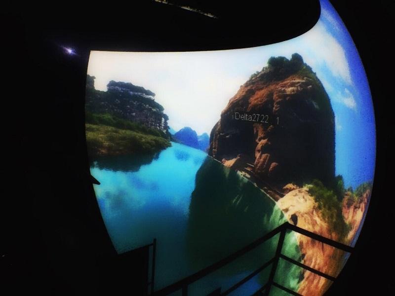 Nanchang Wanda Cultural Tourism City_Flying Ride Image 2_Image courtesy Wincomn