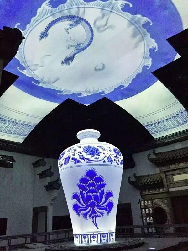 Nanchang Wanda Cultural Tourism City_Flying Ride PreShow Zone Image 2_Image courtesy Wincomn