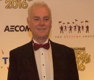 David Willrich at the TEA Thea Awards