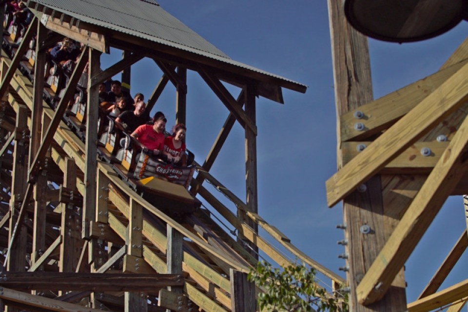 GCI GhostRider, Knott's Berry Farm