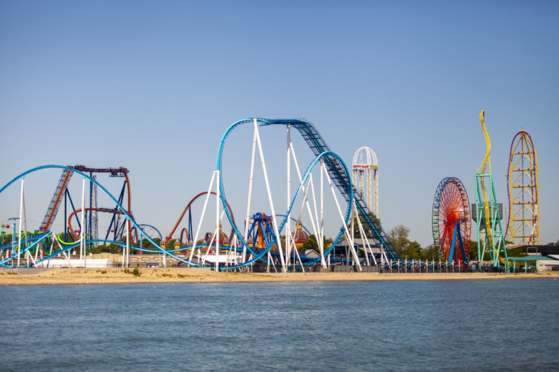 Cedar Point's new 'Steel Vengeance' roller coaster closed following train fender bender