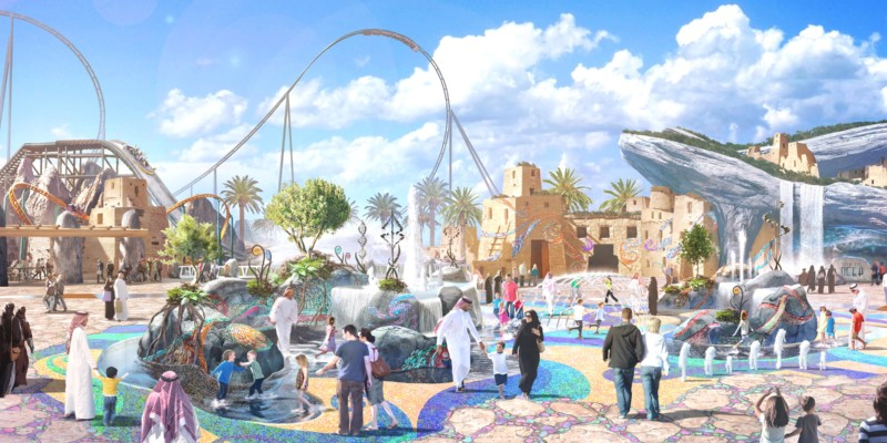 InPark Magazine – Park design unveiled for Six Flags Qiddiya