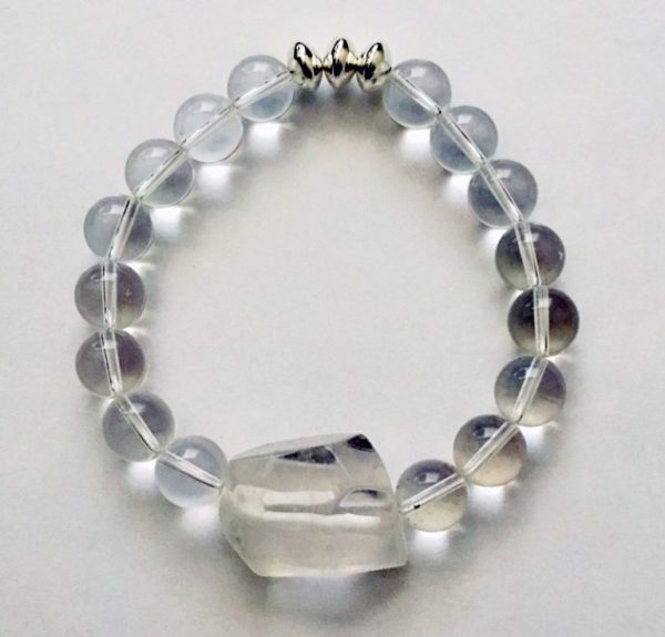 TOgetherness Crystal Quartz Point bracelet