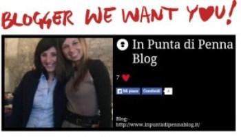 Iscrizione al contest Blogger we want you di Grazia