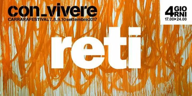 Reti-Convivere Carrara Festival