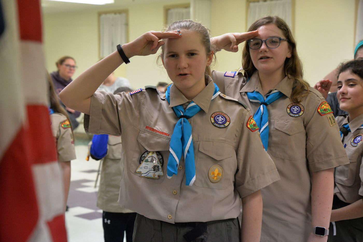 First All Girl Boy Scout Troop Forms In Chester County