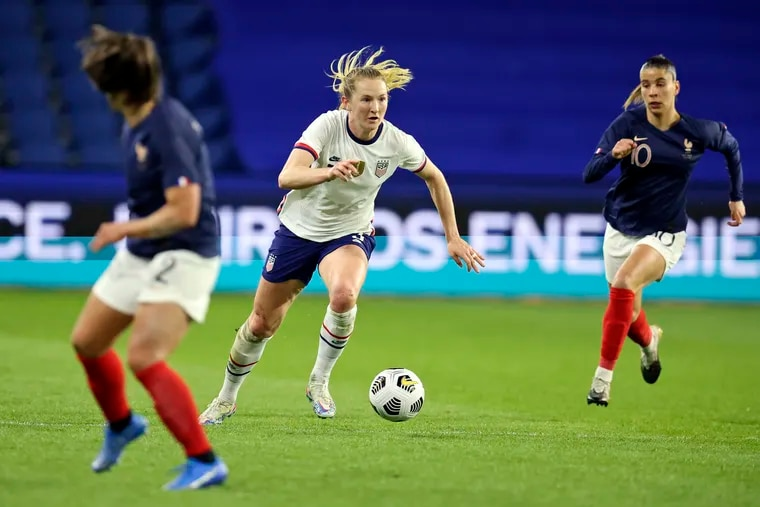We may earn a commission through links on our site. 2021 Olympics Uswnt S Sam Mewis Humble Amid Success With Manchester City U S National Team