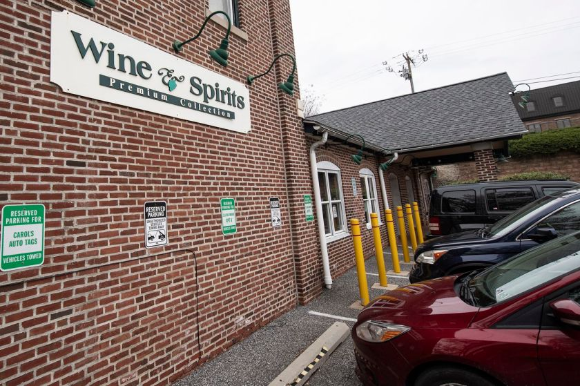 Fine Wine and Good Spirits in Media. Stores are taking limited number of orders by phone from 9 a.m. to 1 p.m., or until the store reaches the maximum number of orders it can fulfill that day, starting today through Saturday.