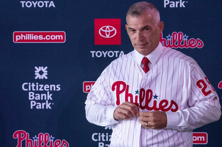 New Phillies manager Joe Girardi feels a connection to Philadelphia
