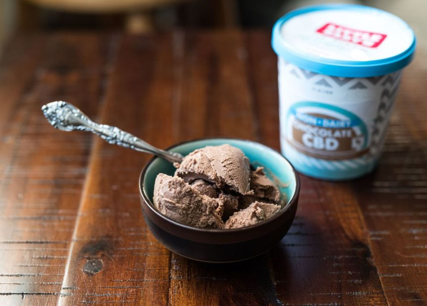 Little Baby's Non-Dairy Chocolate CBD Ice Cream