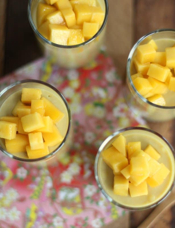 Mango Yogurt Mousse :: Inquiring Chef