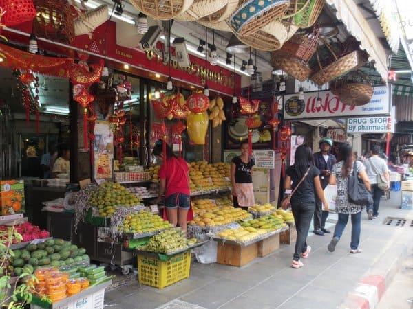 Mangos for Sale Bangkok Thailand