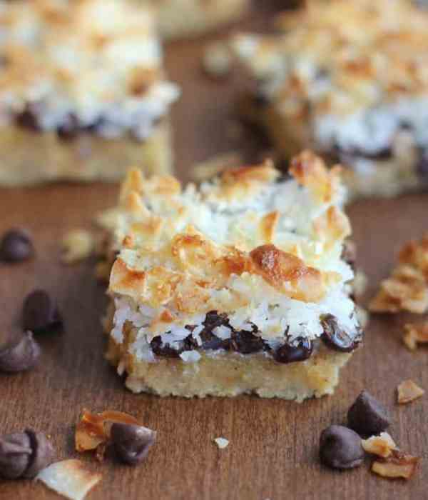 Creamy Chocolate Coconut Layer Bars