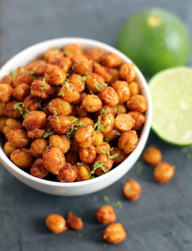 Pan Fried Crispy Chickpeas With Lime :: Inquiring Chef