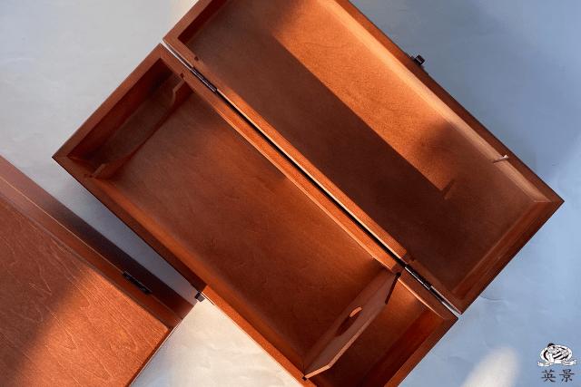 單瓶裝高級木製酒盒
