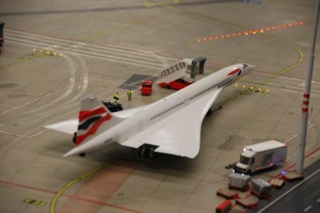 Concorde Miniatur Wunderland