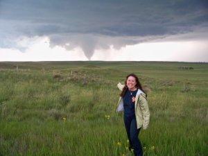 Storm-chaser Mallie