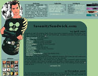 InsanitySandwich.com, Version 2.0