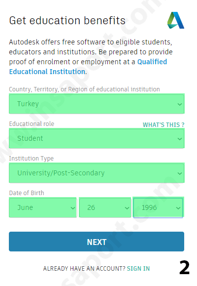 autocad öğrenci lisansi - 2