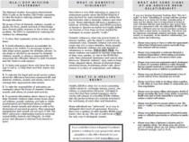 NLA Pamphlet: Abuse v. SM