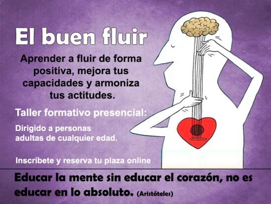 """Curso Taller """"El buen Fluir"""""""