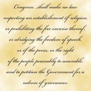 First Amendment - Free Speech