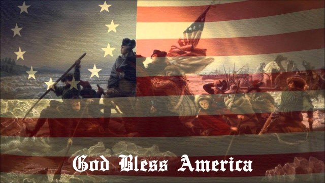 Betsy Ross - G Washington - God Bless