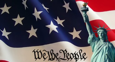 Flag-Statue-We the People