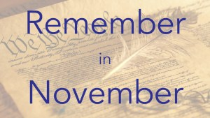 Remember November Constitution