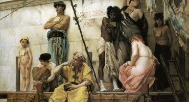 Reparations - Gustave Boulanger's The Slave Market - Ancient Rome