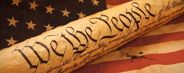 Constitution We The People US Flag