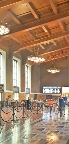 Inside the Union Station