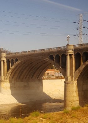 Los Angeles River Concrete Structure