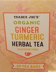 Trader Joes Ginger Turmeric Herbal Tea