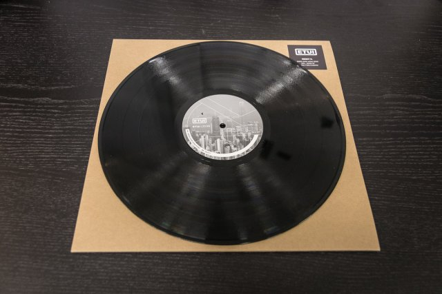 ETUILTD002 Insect O. - Birds Over Hong Kong - Black Vinyl Repress
