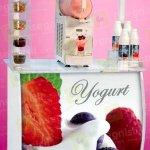 carrello yogurt