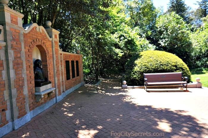 Gardens In Golden Gate Park Roses Redwoods Shakespeare