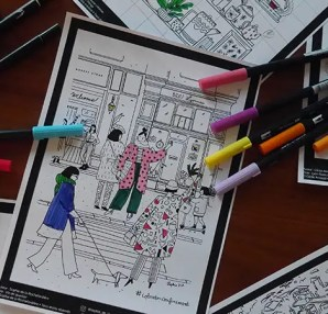 ColoreTonConfinement - Carnet de coloriages