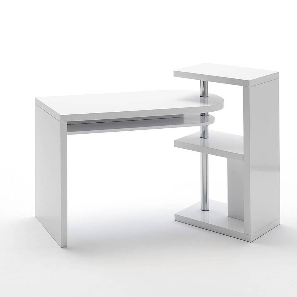 bureau modulable arnaud laque blanc brillant