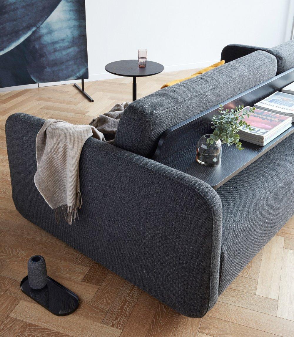 innovation living canape convertible design vogan tissu mixed dance grey