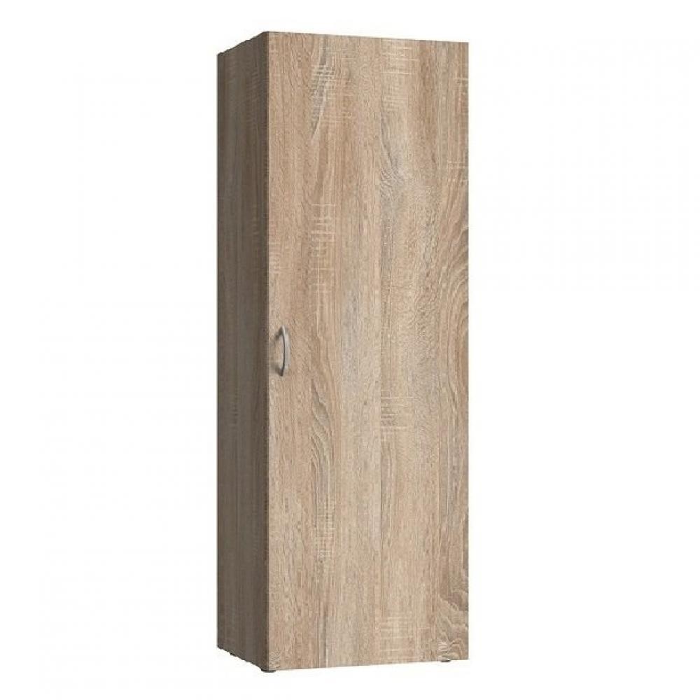 colonne de rangement lund 1 porte chaªne naturel largeur 50 x 40 cm profondeur