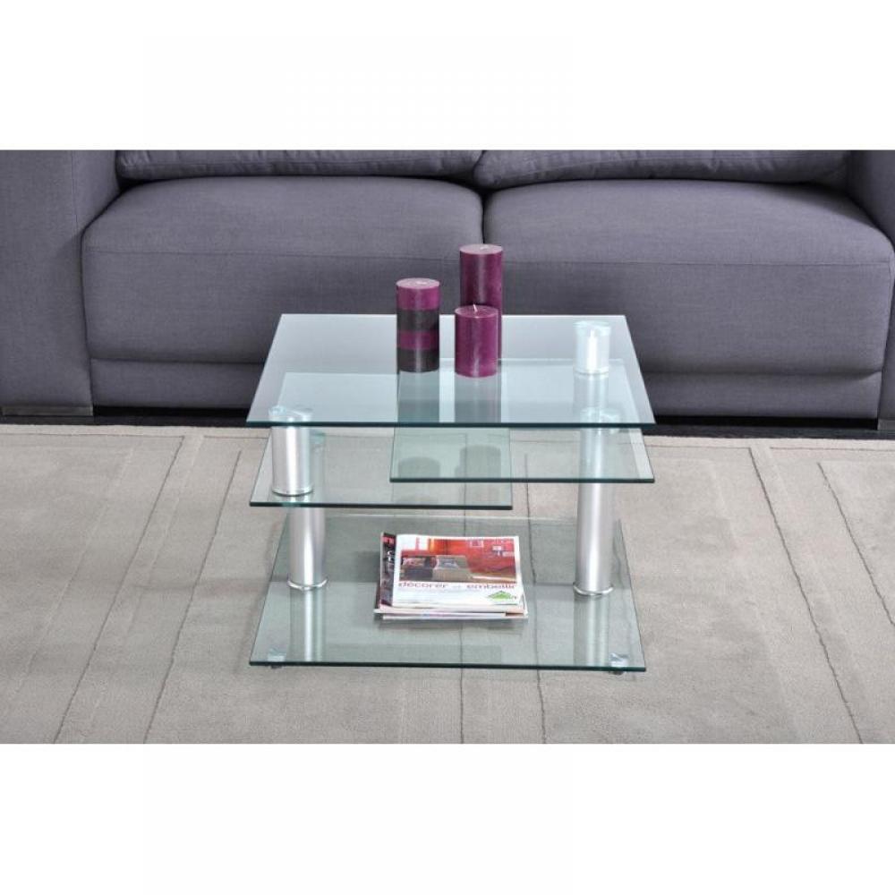 diana table basse en verre modulable