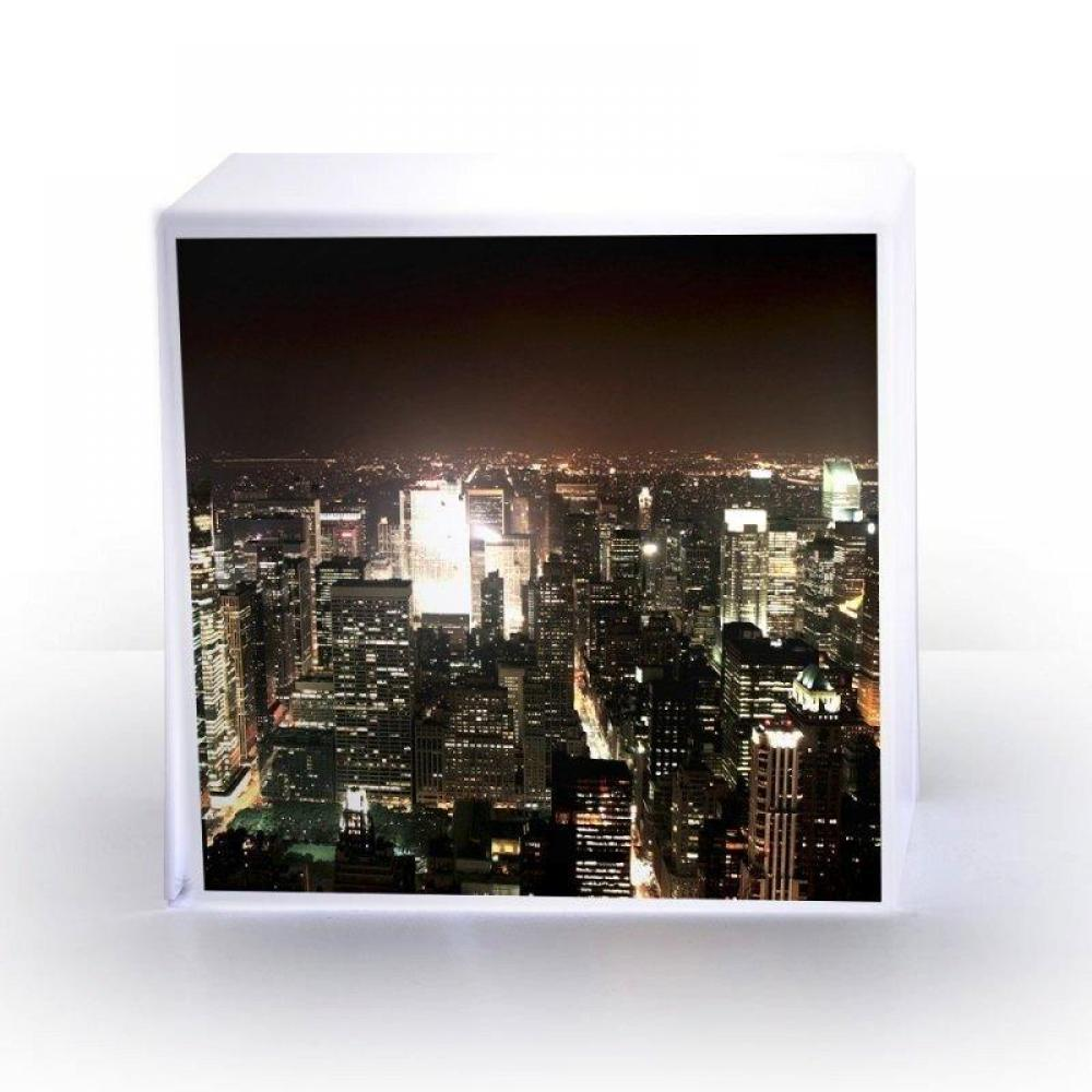 Chaises Meubles Et Rangements Lampe CUBE NEW YORK Plexi