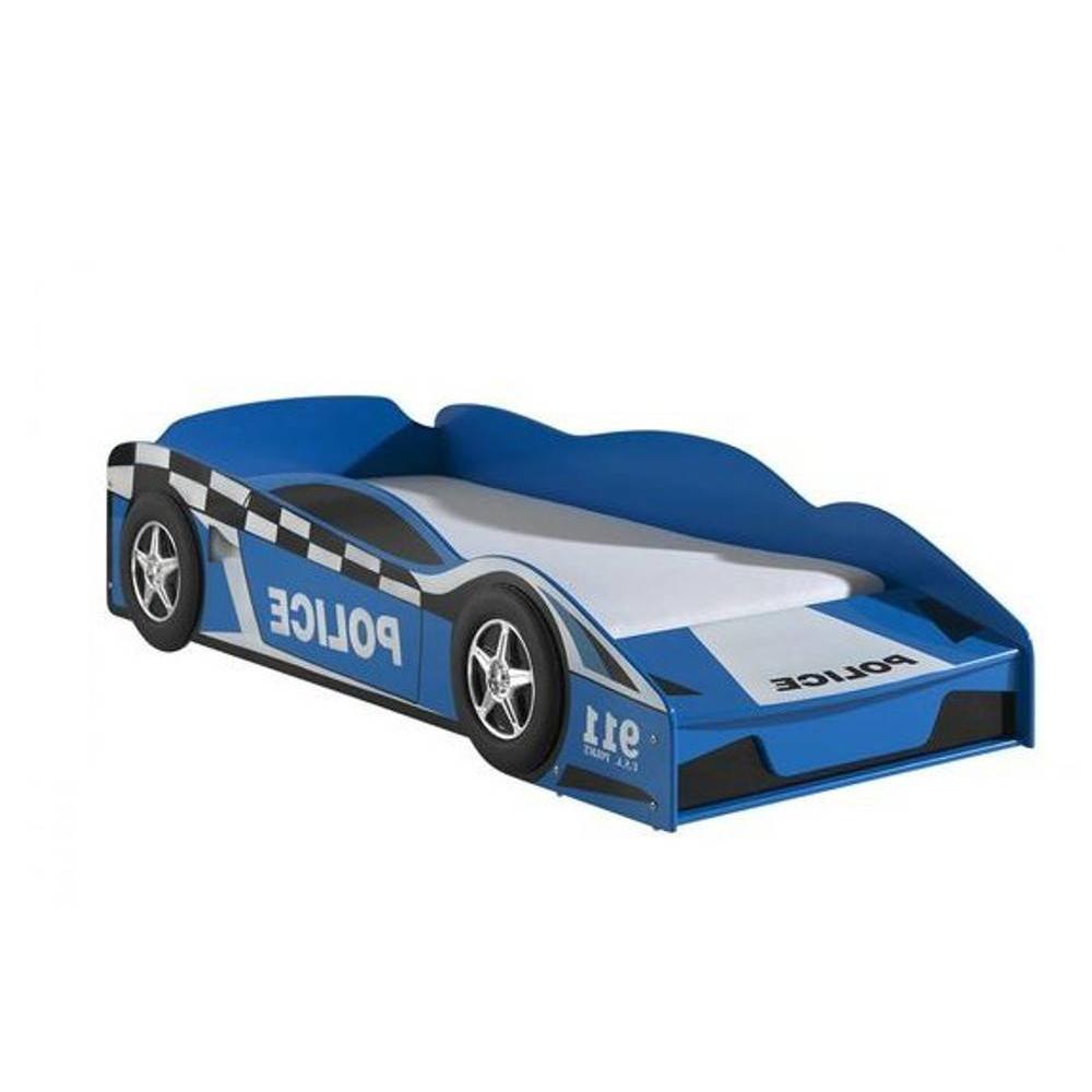 petit lit voiture funbeds bleu