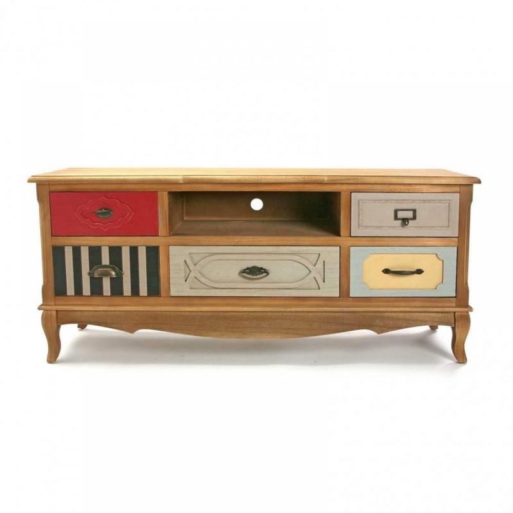 rangements meuble tv barokia