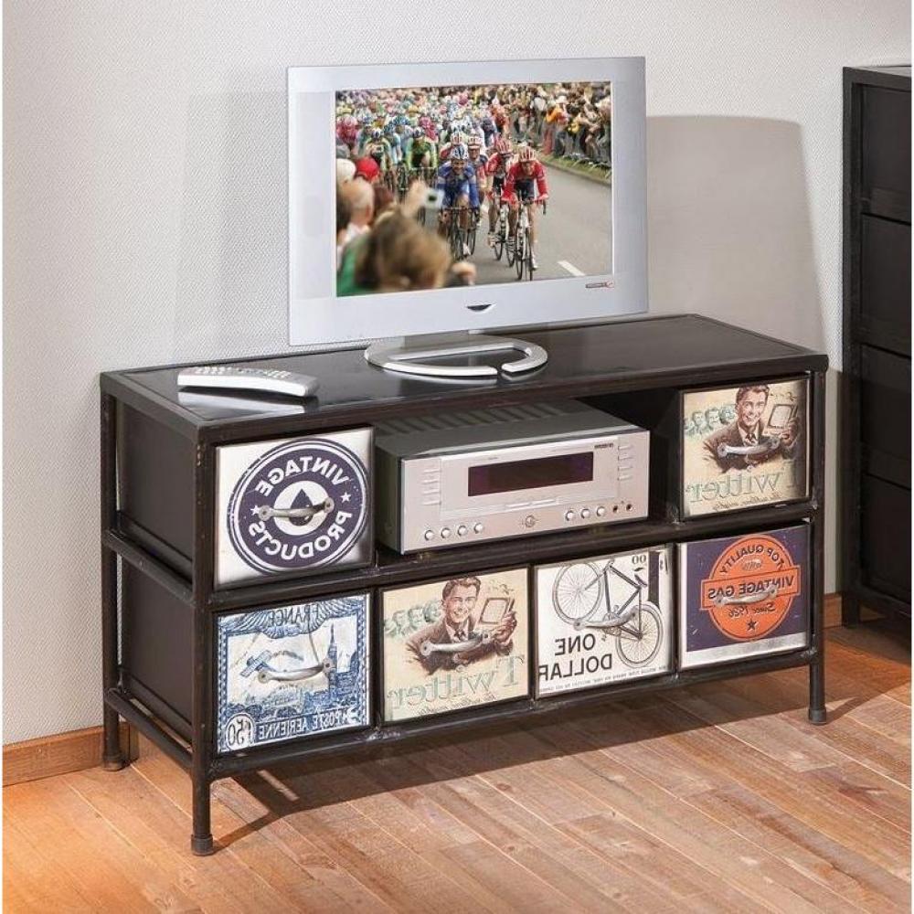 Meubles Tv Meubles Et Rangements Meuble TV Vintage