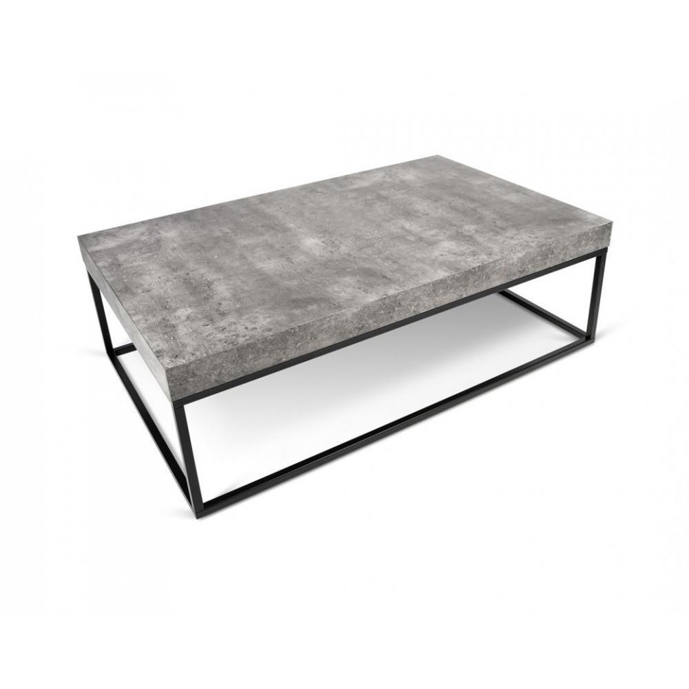 table basse petra effet beton