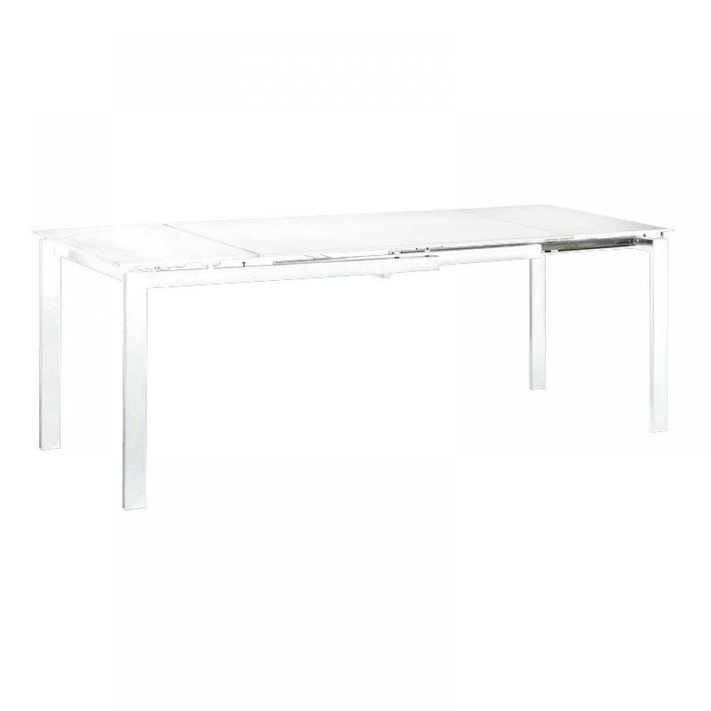 table repas extensible fly blanche