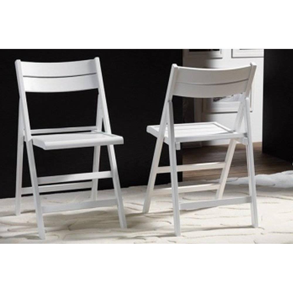 Chaises Bois Et Blanc Maison Design